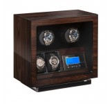 Beco BLDC Walnut Watchwinder voor 2 plus 2 horloges