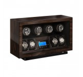 Beco BLDC Walnut Watchwinder voor 4 plus 4 horloges