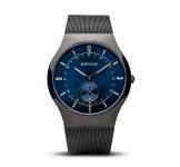 Bering 11940-227 Brushed Grey Mesh Horloge
