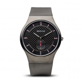 Bering 11940-377 Brushed Grey Mesh Horloge