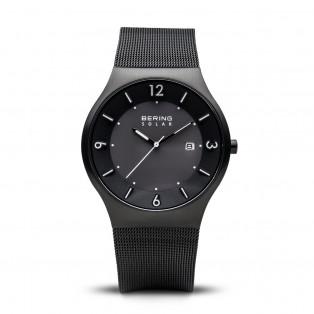 Bering 14440-222 Black Solar Horloge