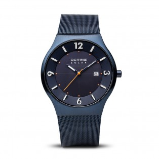 Bering 14440-393 Blue Solar Horloge