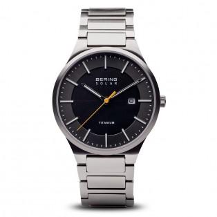 Bering 15239-779 Solar Titanium Horloge