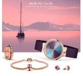 Bering 10X31 Ann2 Watch Jewelry Set Ocean Blue