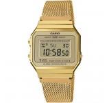 Casio A700WEMG-9AEF Retro Horloge