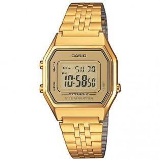 Casio Collection LA680WEGA-9ER  Retro Horloge