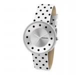 Lambretta Cielo Dot White Horloge