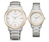 Citizen AW1676-86A en FE1226-82A Horloges Set Dames Heren