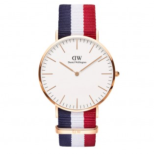Daniel Wellington Classic Nato 40mm Cambridge RG