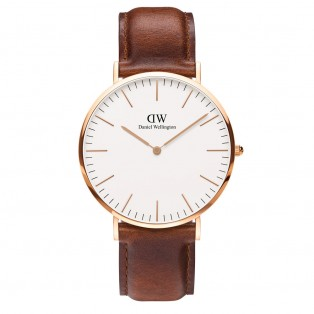 Daniel Wellington Classic 40mm St Mawes Rose Gold
