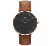 Daniel Wellington Classic Black 40mm Durham Rosegold