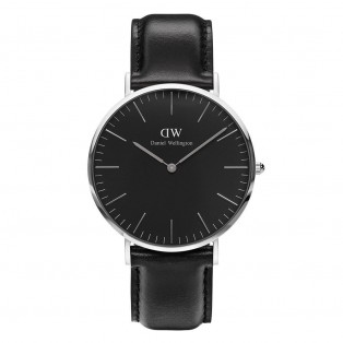 Daniel Wellington Classic Black 40mm Sheffield Silver