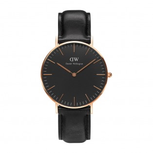 Daniel Wellington Classic Black 36mm Sheffield Rosegold