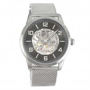 Davis 2160 Skeleton Index Watch