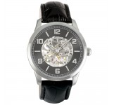 Davis 2165 Skeleton Index Watch