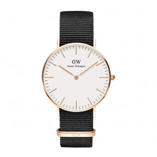 Daniel Wellington Classic White 36mm Cornwall Rosegold