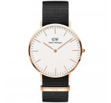 Daniel Wellington Classic White 40mm Cornwall Rosegold