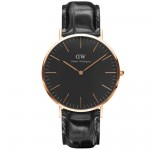 Daniel Wellington Classic Black 40mm Reading Rosegold