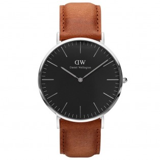 Daniel Wellington Classic Black 40mm Durham Silver