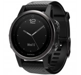 Garmin Fenix 42mm 5S Saffierglas Black