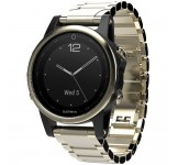 Garmin Fenix 42mm 5S Saffierglas Gold Steel