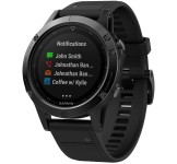 Garmin Fenix 47mm 5 Black Sapphire with black band