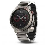 Garmin Fenix Chronos Horloge met Titanium Hybride Polsband.