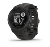 Garmin Instinct GPS Watch, Graphite Black