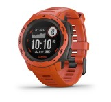 Garmin Instinct GPS Watch, Flame Red