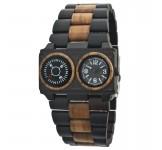 GreenTime ZW072B Kompas Houten Horloge