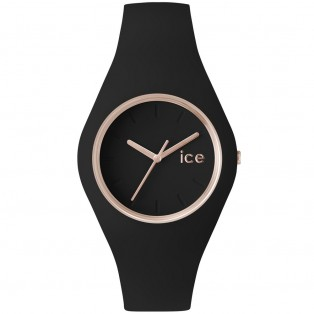 Ice-Glam Small Black Rosegold