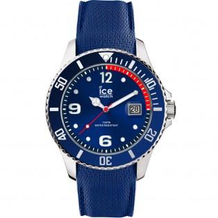 Ice-Watch Ice Steel Medium Blue Horloge