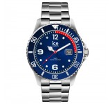 Ice-Watch Ice Steel Medium Blue Silver Horloge