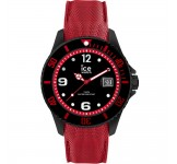 Ice-Watch Ice Steel Large Black Red Horloge