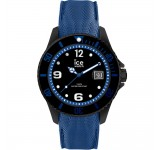 Ice-Watch Ice Steel Large Black Blue Horloge