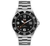 Ice-Watch Ice Steel Medium Black Silver Horloge