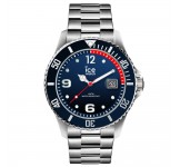Ice-Watch Ice Steel Large Blue Silver Horloge