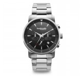 Lambretta Imola 44 Black Bracelet Steel Horloge