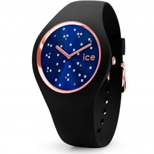 Ice Cosmos Small Black Ice-Watch