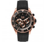 Ice-Watch Ice Steel Chrono Black Rosegold Large