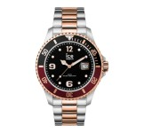 Ice-Watch Ice Steel Large Bicolor Silver Horloge