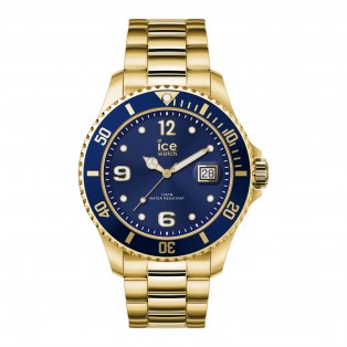 Ice-Watch Ice Steel Large Blue Gold Horloge
