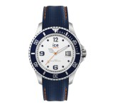 Ice-Watch Ice Steel Medium White Blue Horloge