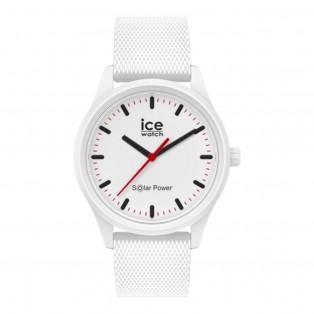 Ice-Watch Ice-Solar Medium White Mesh IW018390