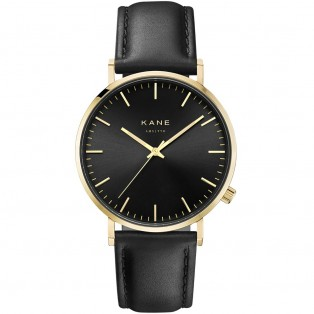 Kane Gold Club Classic Black Horloge