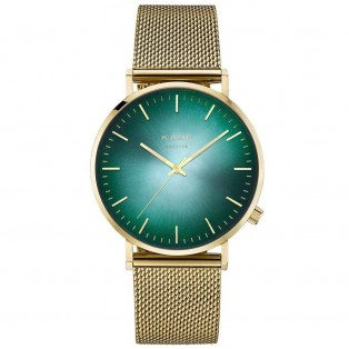 Kane Gold Jade Gold Mesh Horloge