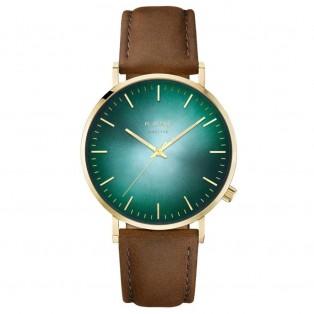 Kane Gold Jade Vintage Brown Horloge