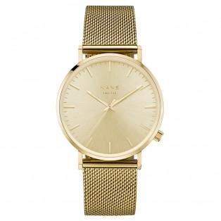 Kane Gold Rush Gold Mesh Horloge
