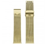 Kane Gold Mesh 20mm Milanese Band