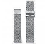 Kane Silver Mesh 20mm Milanese Band